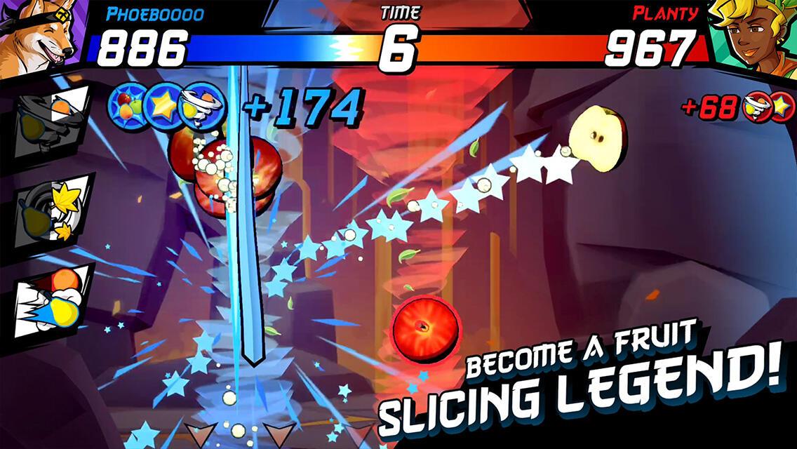 Fruit Ninja Fight Screenshot