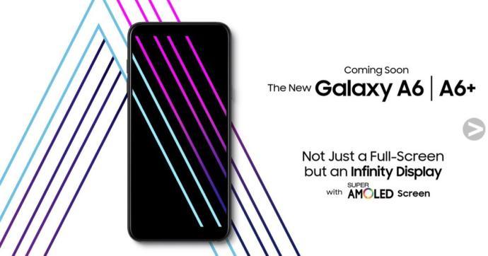 Galaxy A6 Promo