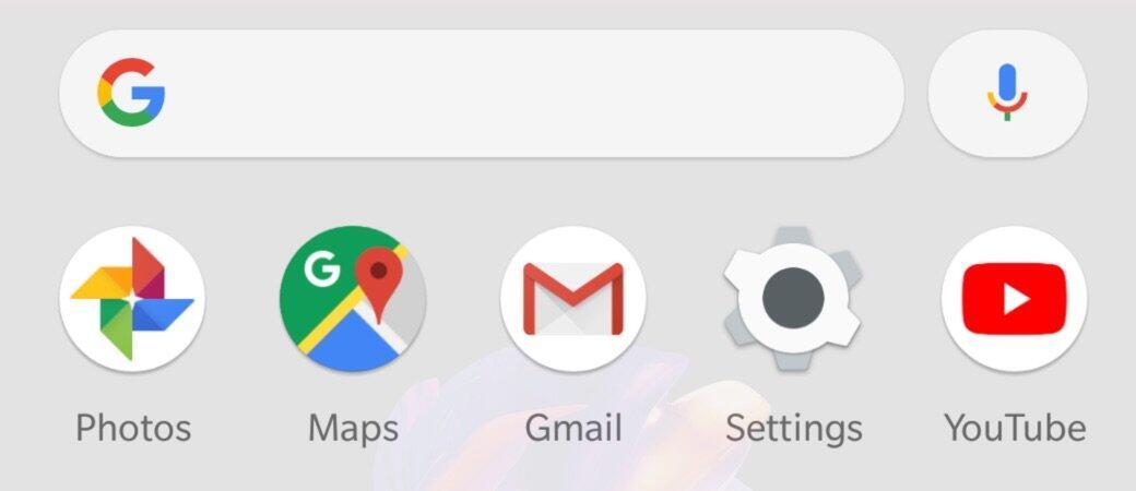 Google Pixel Launcher Suchleiste Neu