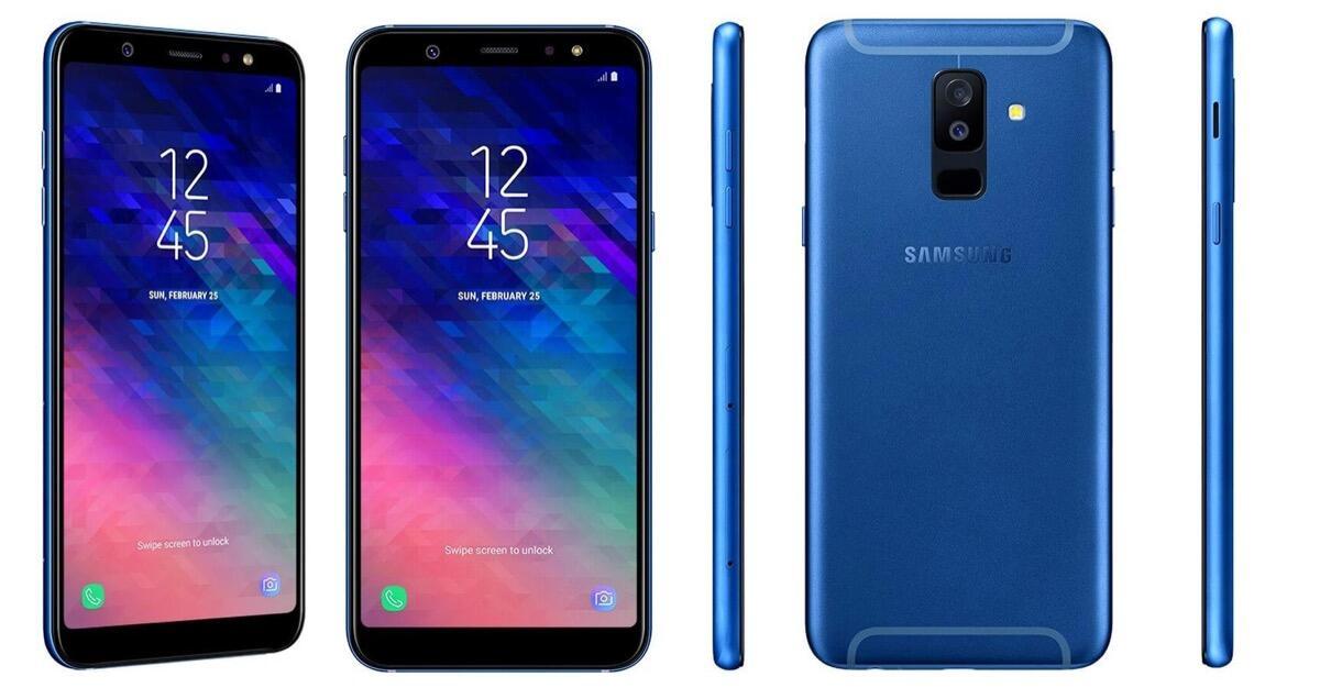 Samsung Galaxy A6 Plus Blau