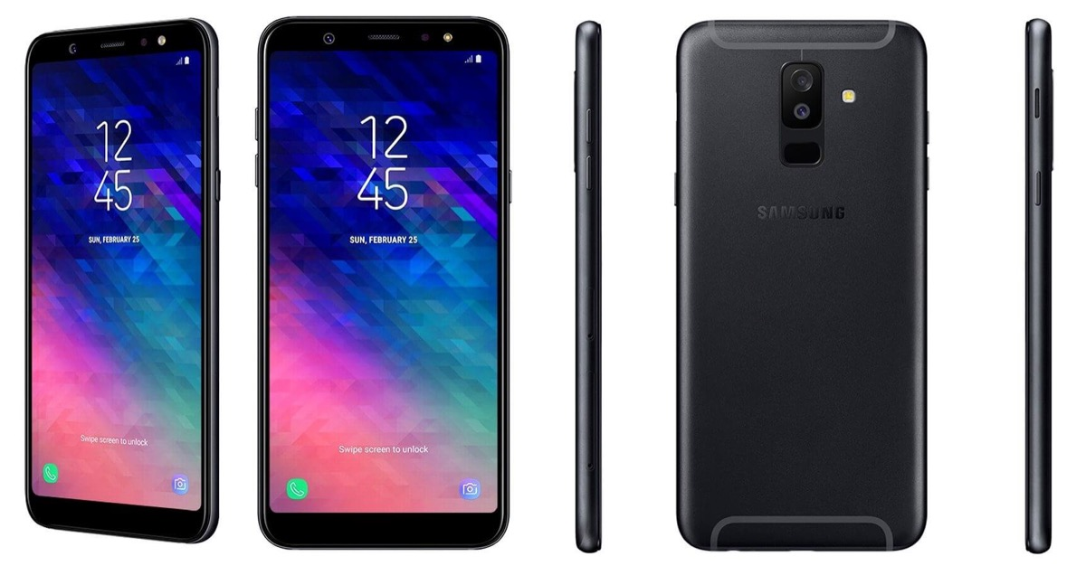 Samsung Galaxy A6 Plus Schwarz