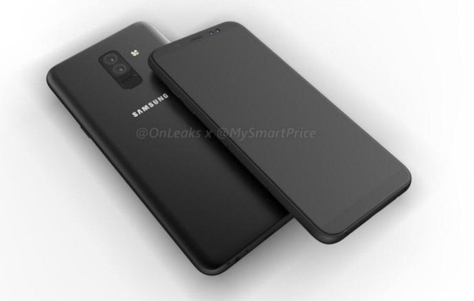 Samsung Galaxy A6 Render Header