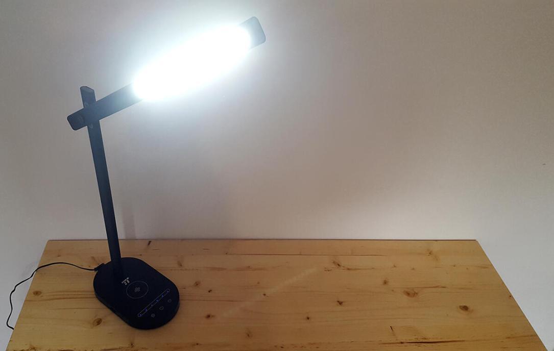 Taotronics Schreibtischlampe Leuchtkraft