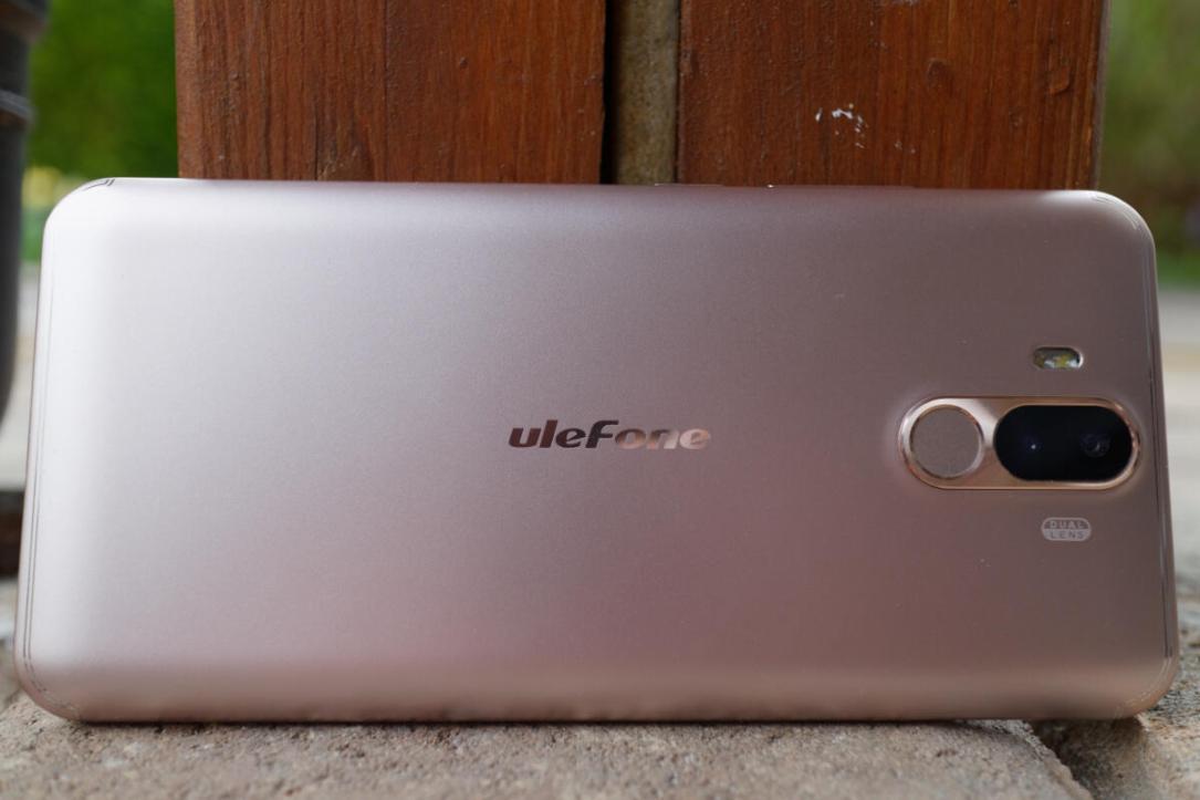 Ulefone Power 3 Back