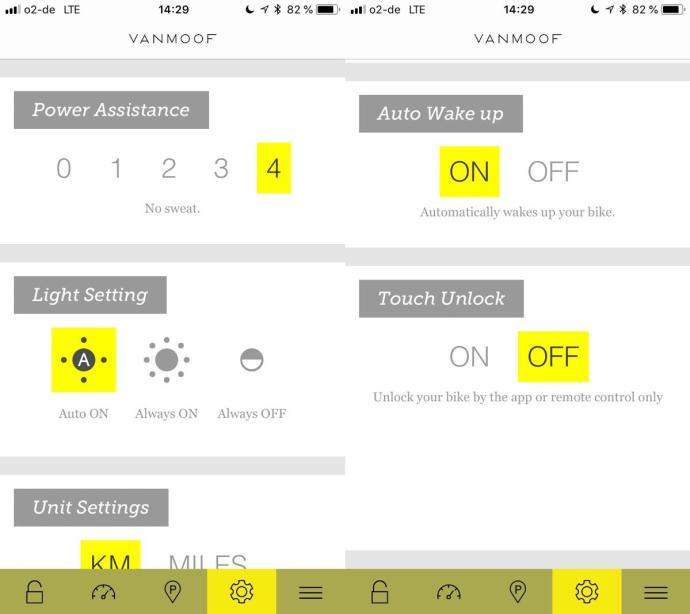 Vanmoof Electrified S App Screenshot1