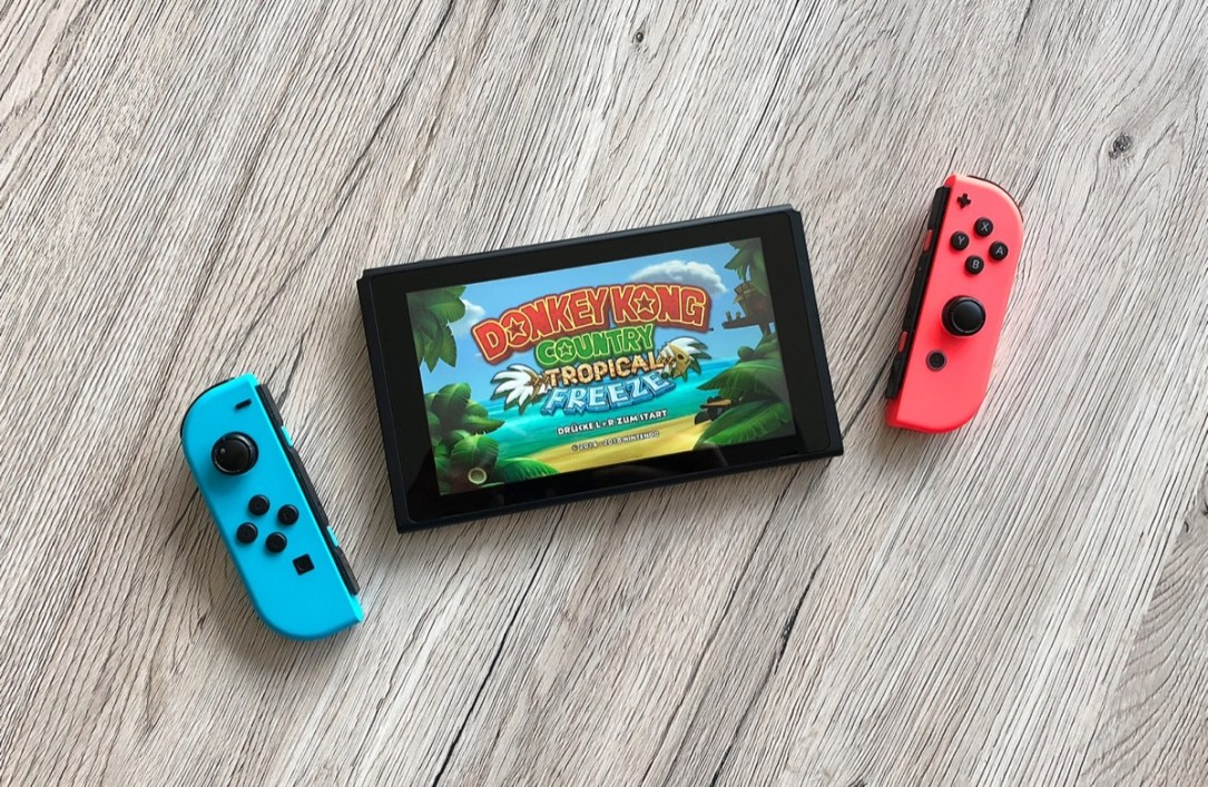 Donkey Kong Country Tropical Freeze Nintendo Switch Header