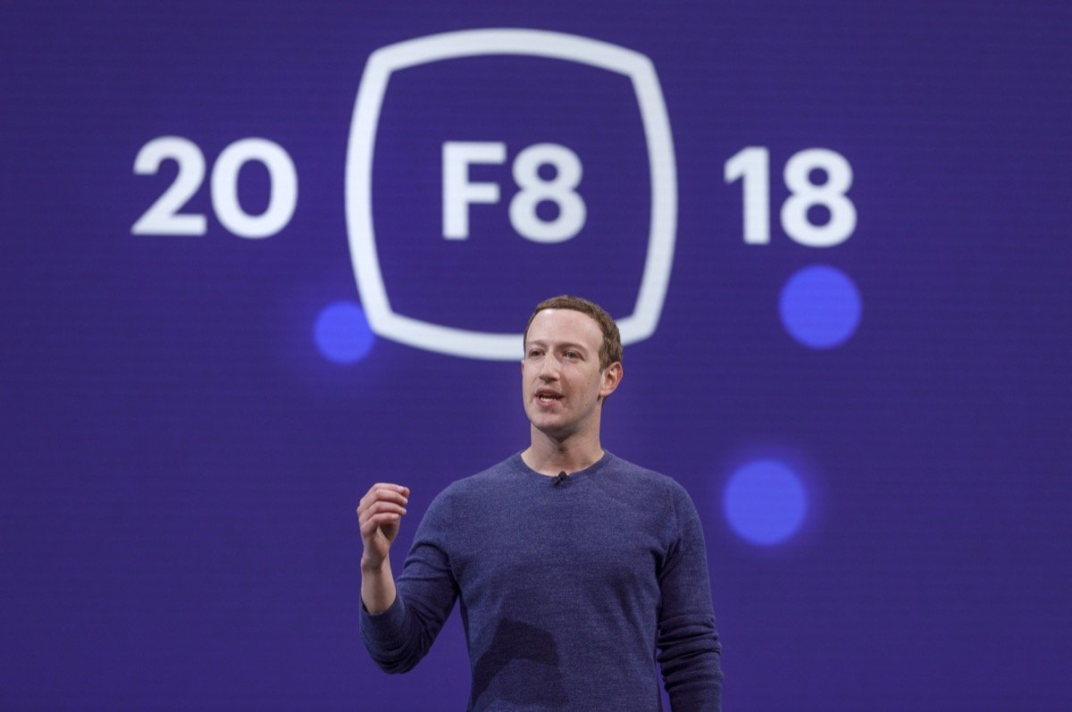 Facebook F8 2018 Mark Zuckerberg Header