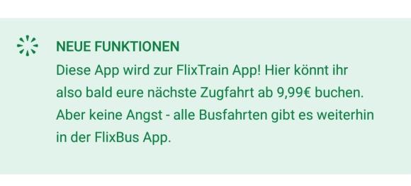 Flixbus Flixtrain