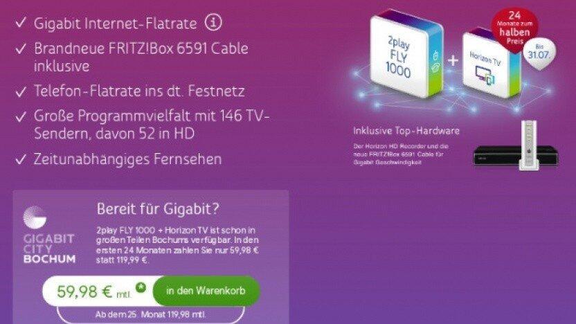 Gigabit Unitymedia