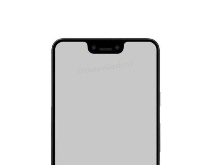 Google Pixel 3 Mockup Notch