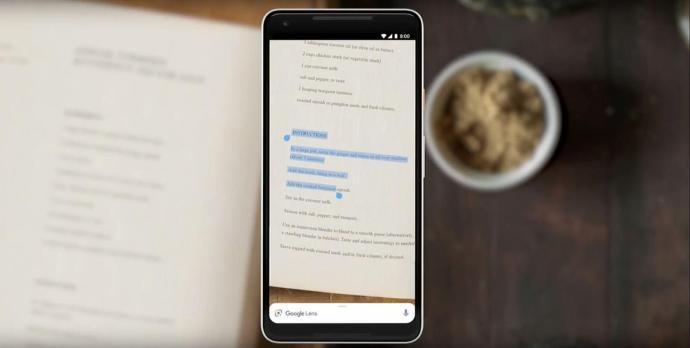 Google Lens Smart Text Selection