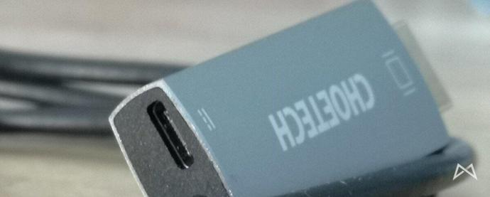 Huawei P20 Pro Typ C Pd Adapter3 Choetech Xch M180gy