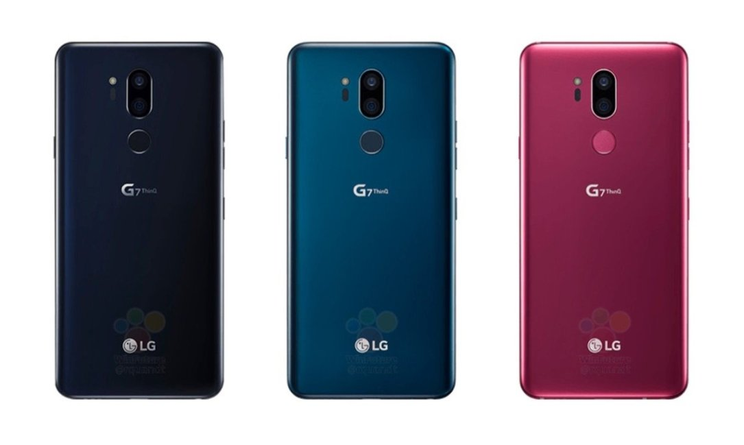 Lg G7 Thinq Back Colors