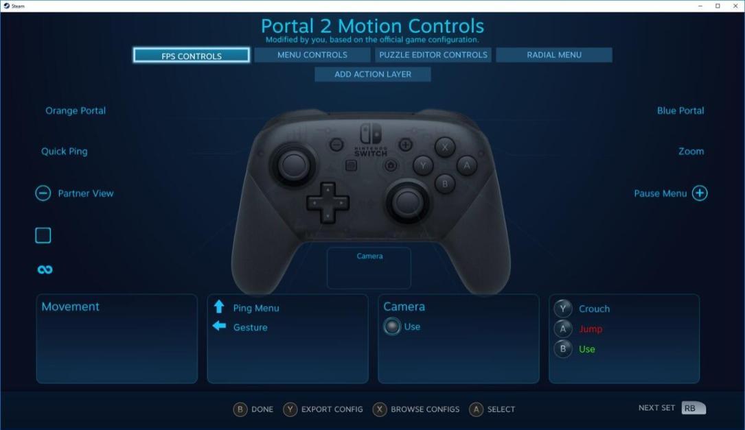 Steam Switch Pro
