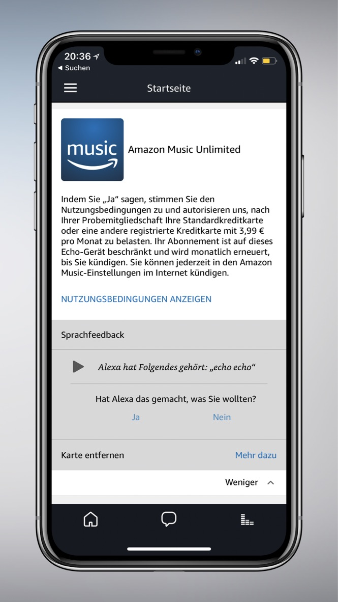 Alexa Echo Music Amazon Fail