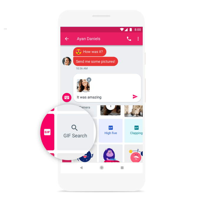 Android Messages Gif Suche