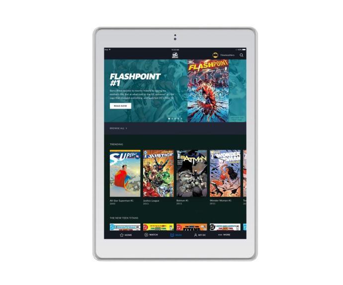 Dc Universe Tablet
