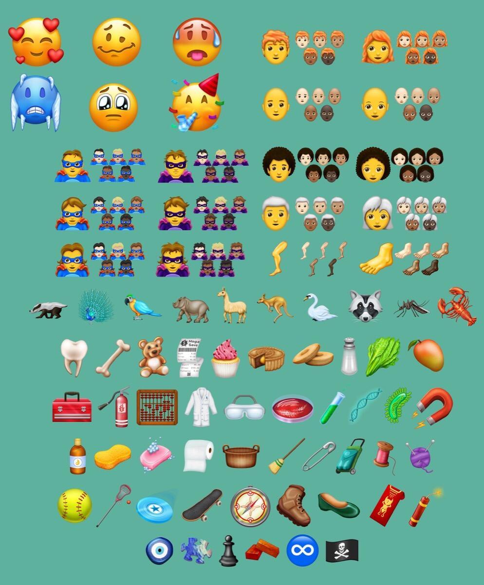 Emojipedia 11 1 Sample Images 2018 Emoji 11
