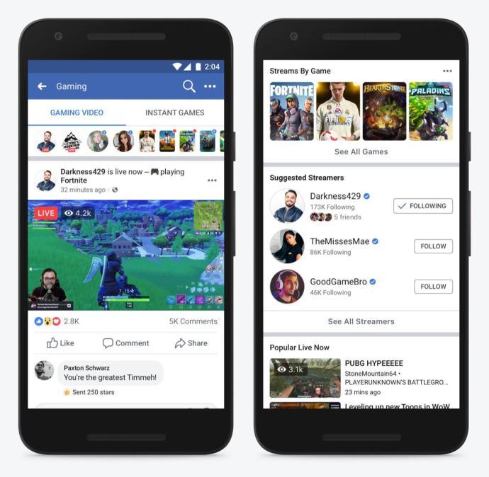 Facebook Gaming Mobile