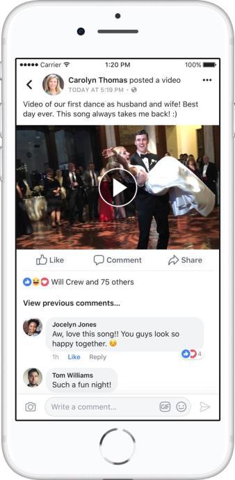 Facebook Video Music