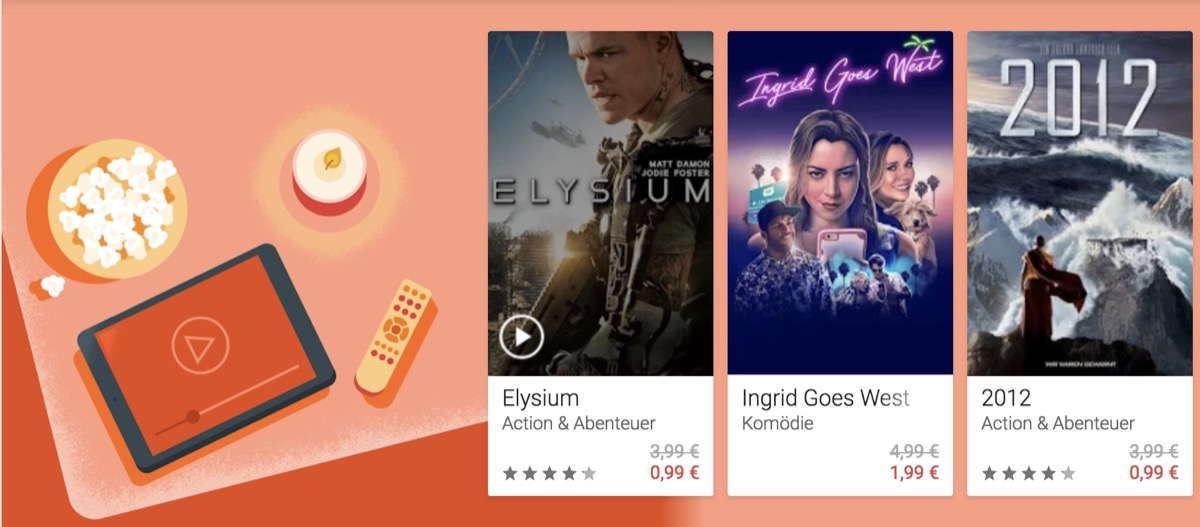 Google Play Deal Filme