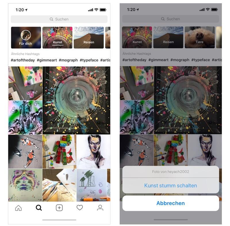 Instagram Themenkanal