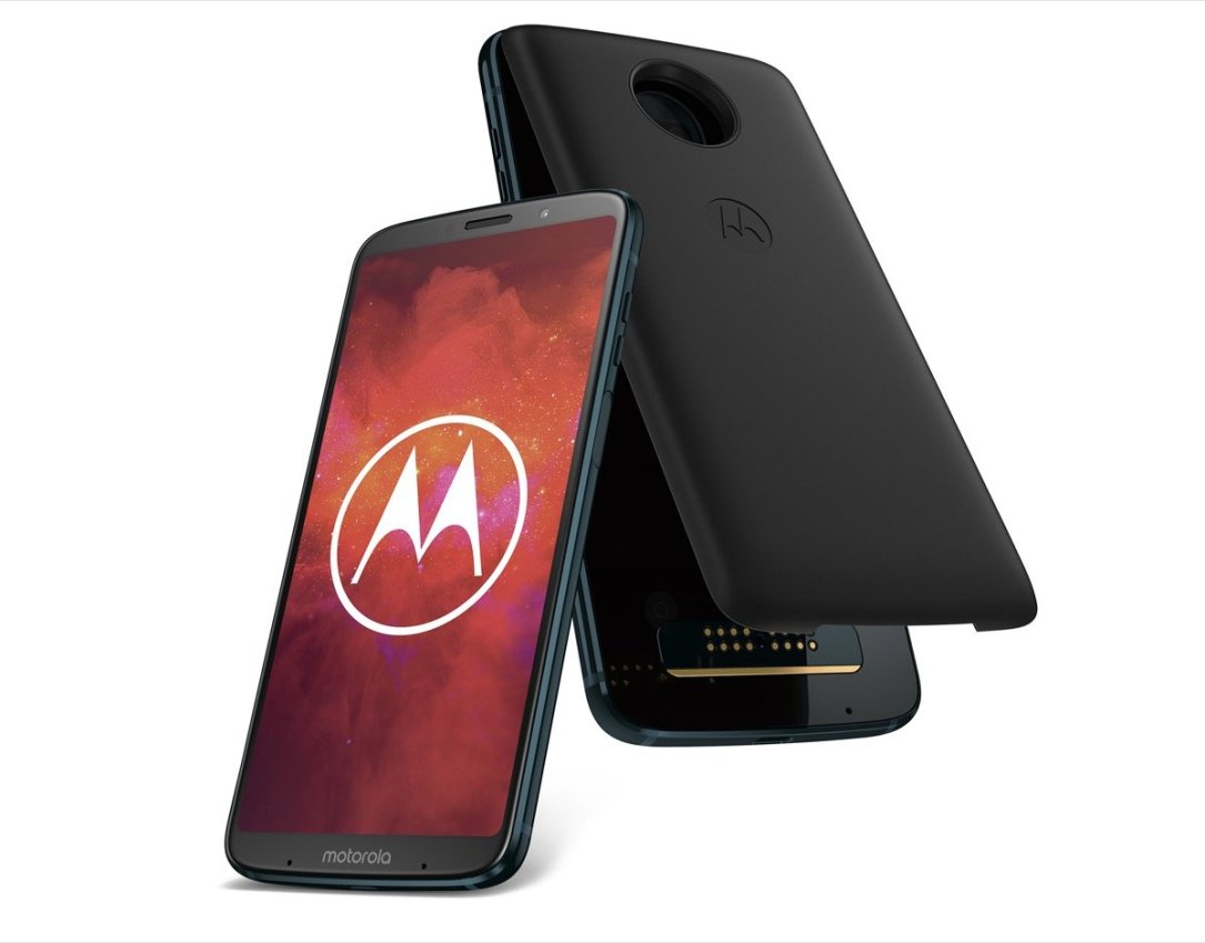 Moto Z3 Play Deep Indigo & Moto Power Pack