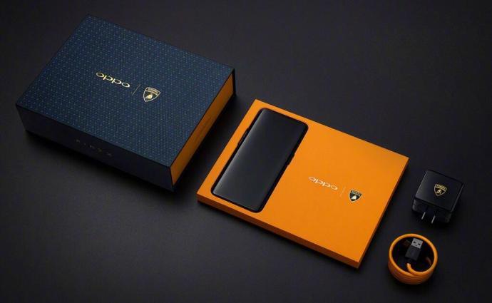Oppo Find X Lamborghini Edition Box