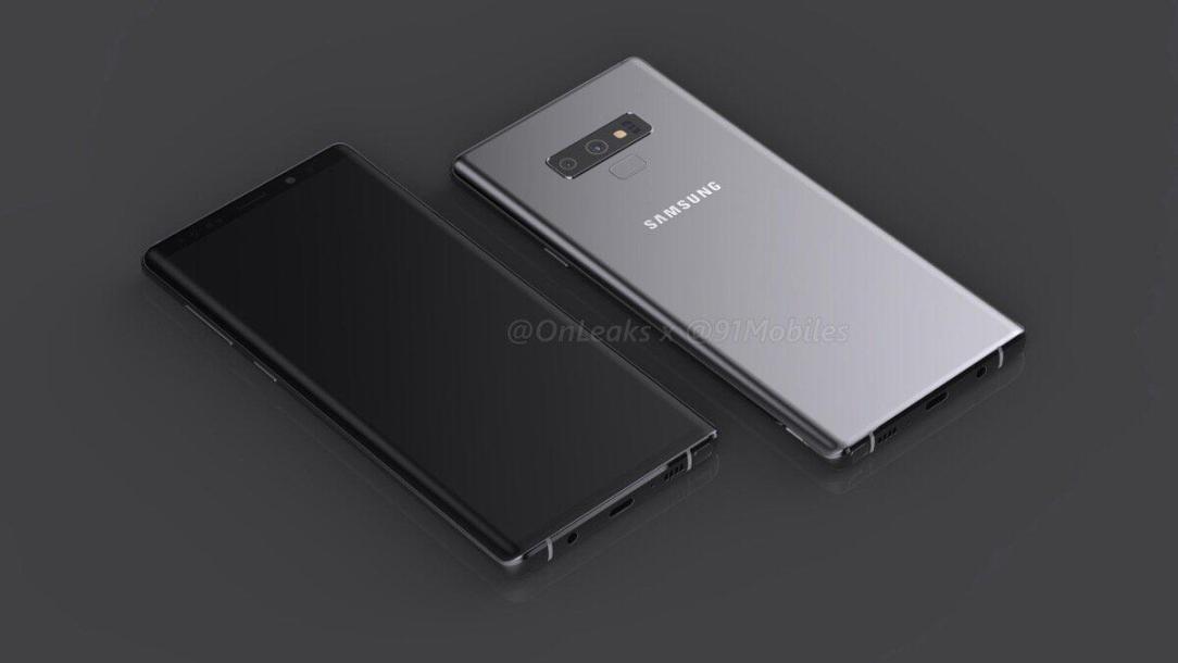 Samsung Galaxy Note 9 Render Header