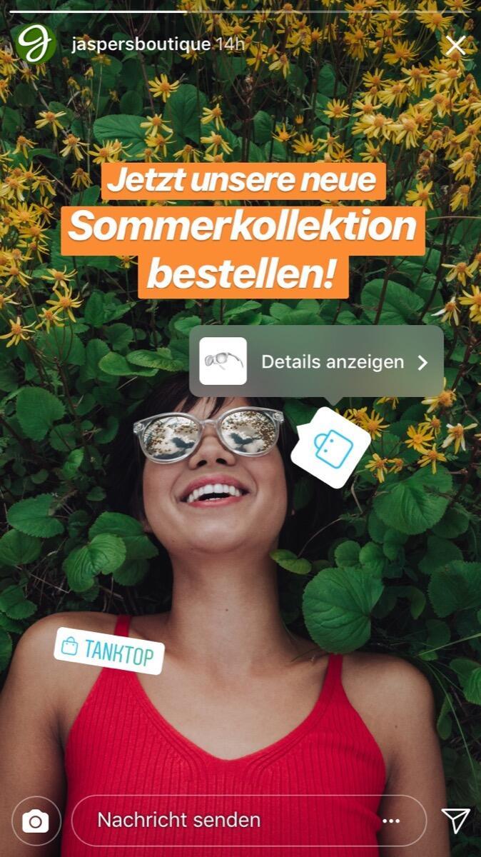 Shopping Sticker See Details De