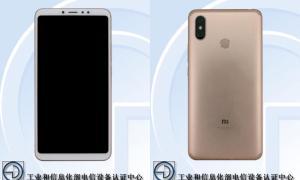 Xiaomi Mi Max 3 Front Back