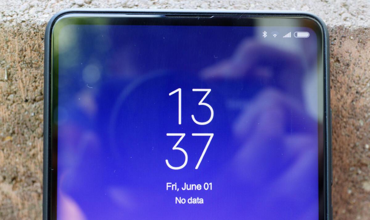 Xiaomi Mi Mix 2s Display