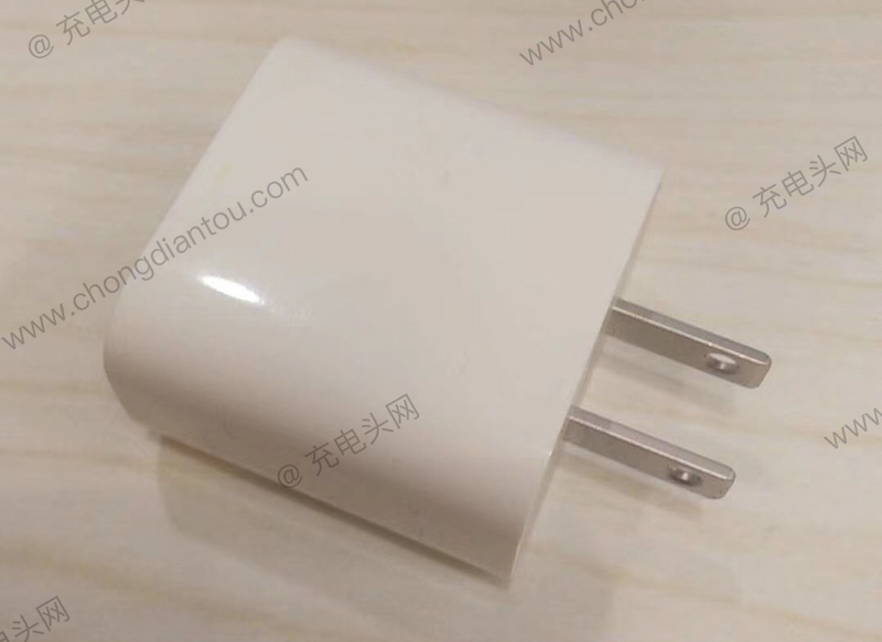 Apple 18w Charger Side