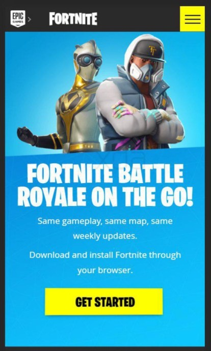 Fortnite Android Browser