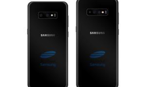 Galaxy S10 Triple Cam Concept