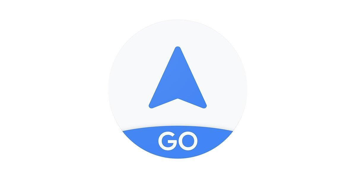 Google Maps Go Navigation Header