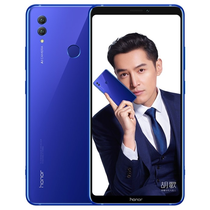 Honor Note 10 Blau
