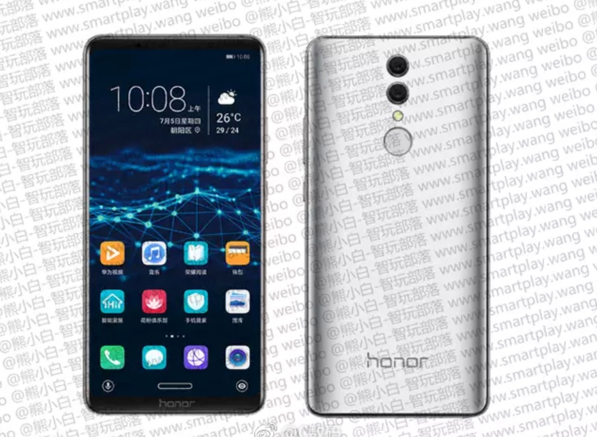 Honor Note 10 Leak Header