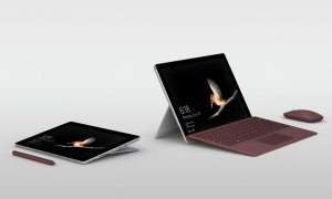 Microsoft Surface Go Header