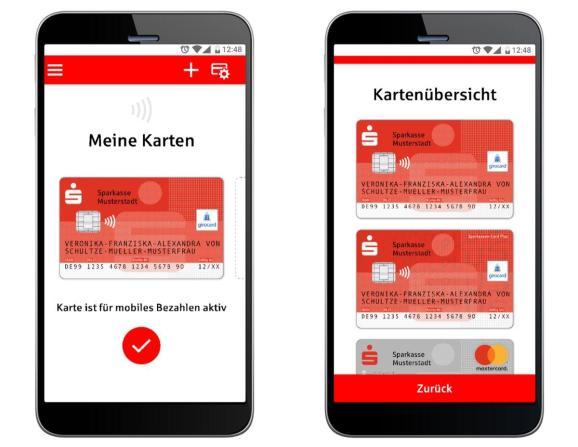 Mobiles Bezahlen Sparkasse App