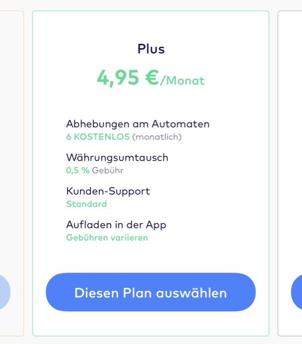 Monese Premium Plus:1