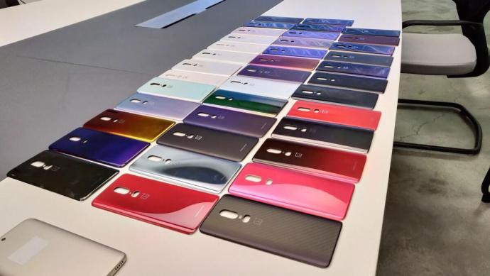 Oneplus 6 Farben