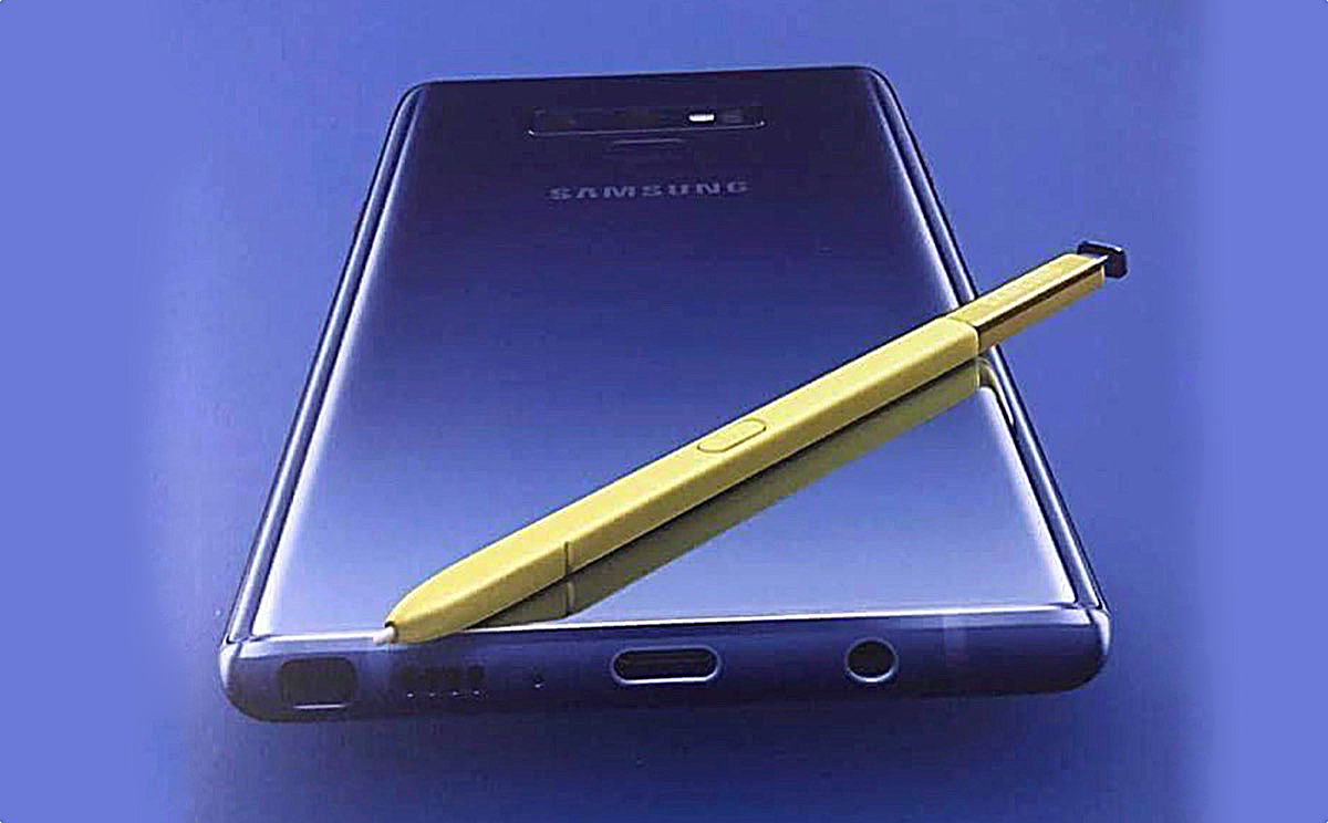 Samsung Galaxy Note 9 Note9 Poster