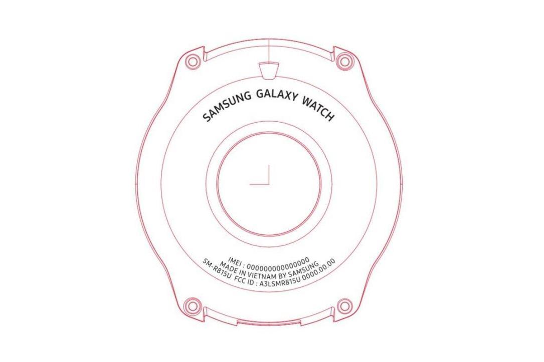 Samsung Galaxy Watch Fcc
