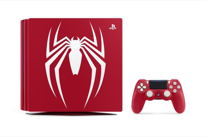 Sony Ps4 Pro Spider Man Header