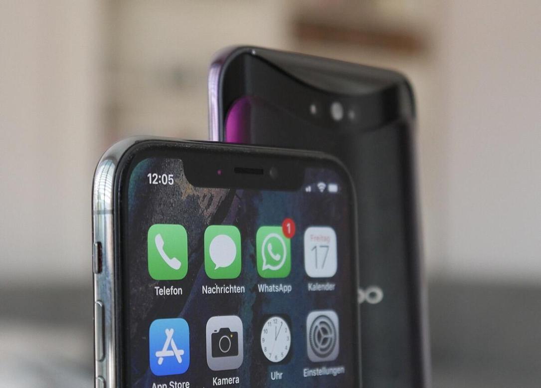Apple Iphone Oppo Find Notch Slider Header
