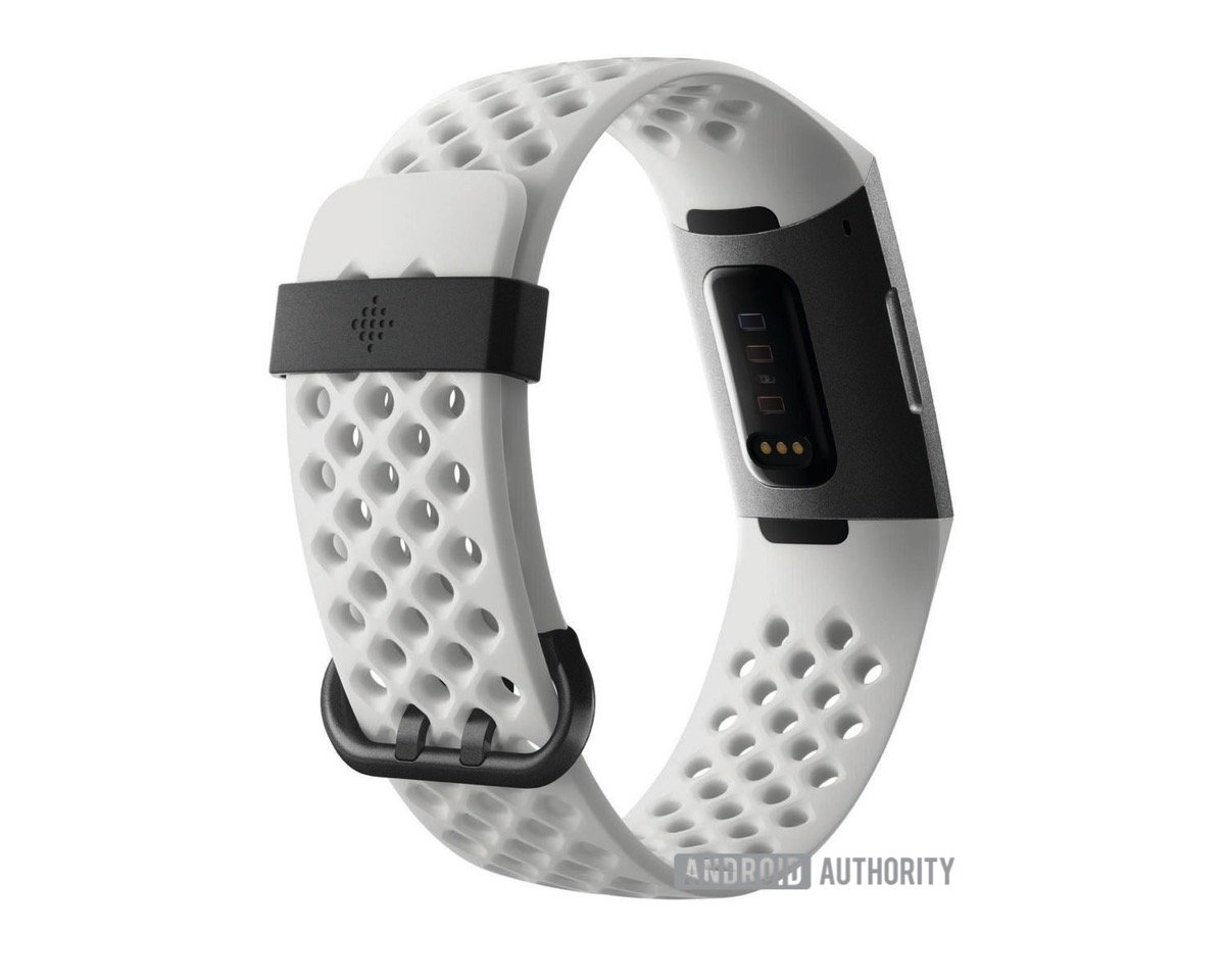 Fitbit Charge 3 Back Weiss