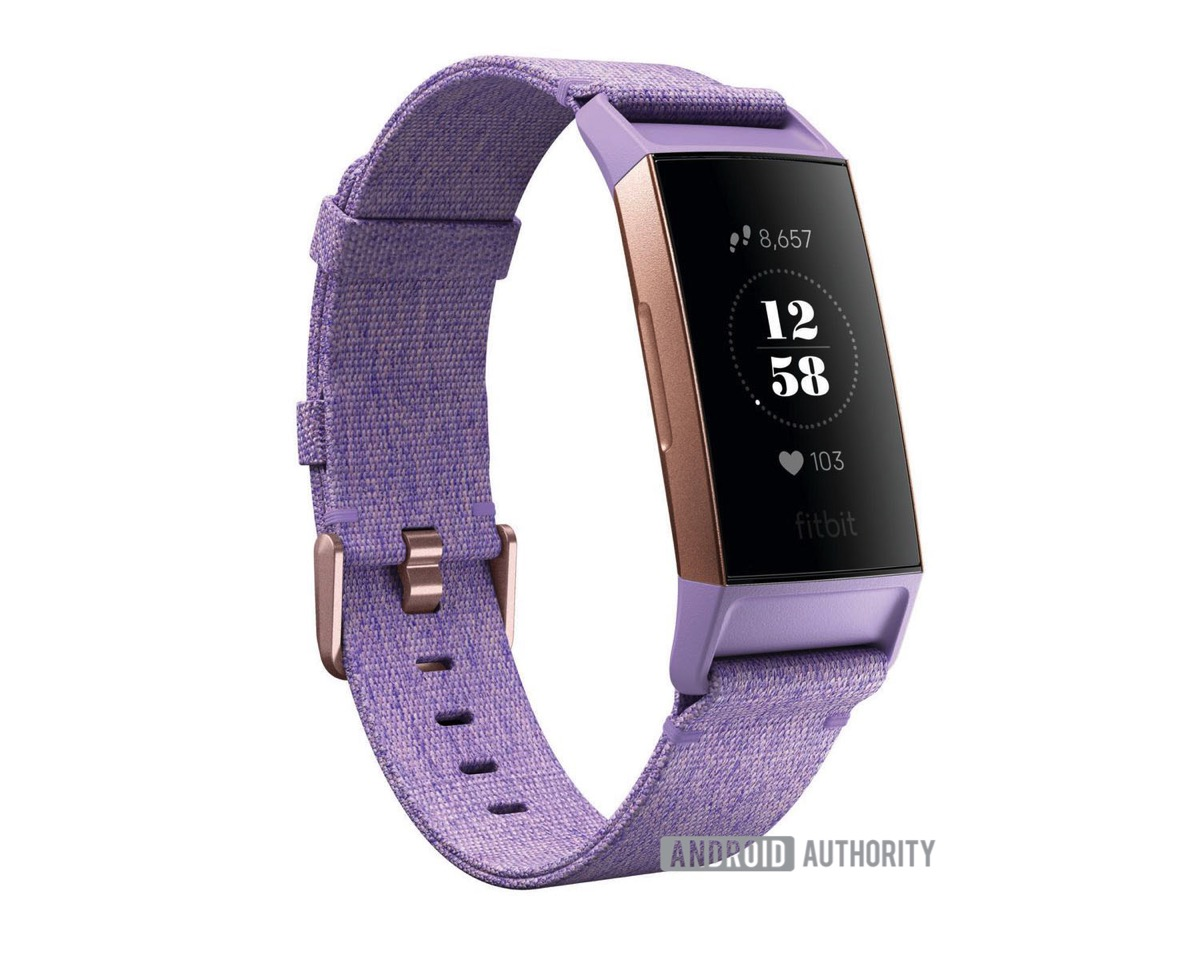 Fitbit Charge 3 Front Lila