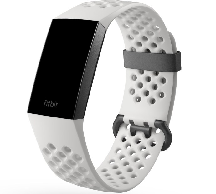 Fitbit Charge 3 Weiss