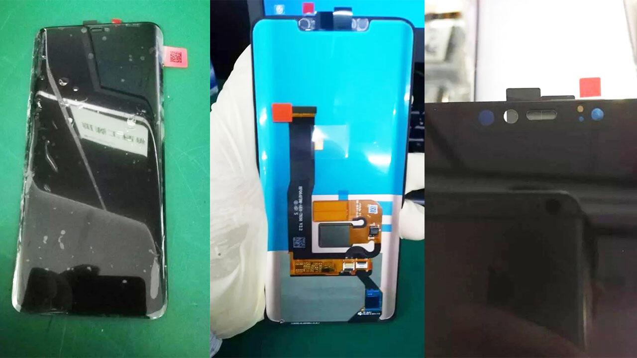 Huawei Mate 20 Front Leak